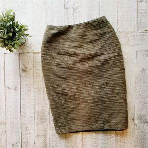 Anthropologie Moulinette Soeurs Olive Pencil Skirt